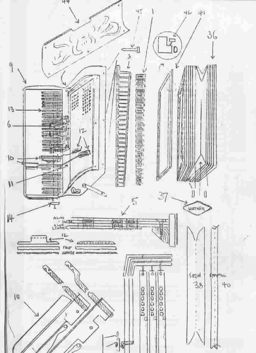 Parts diagram from Fischer's ABC Manual